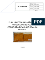 Plan Haccp de Pulpa Congelada de Aguaje
