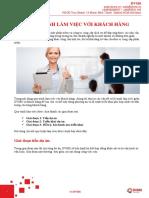 Quy trình làm việc với khách hàng của DVMS