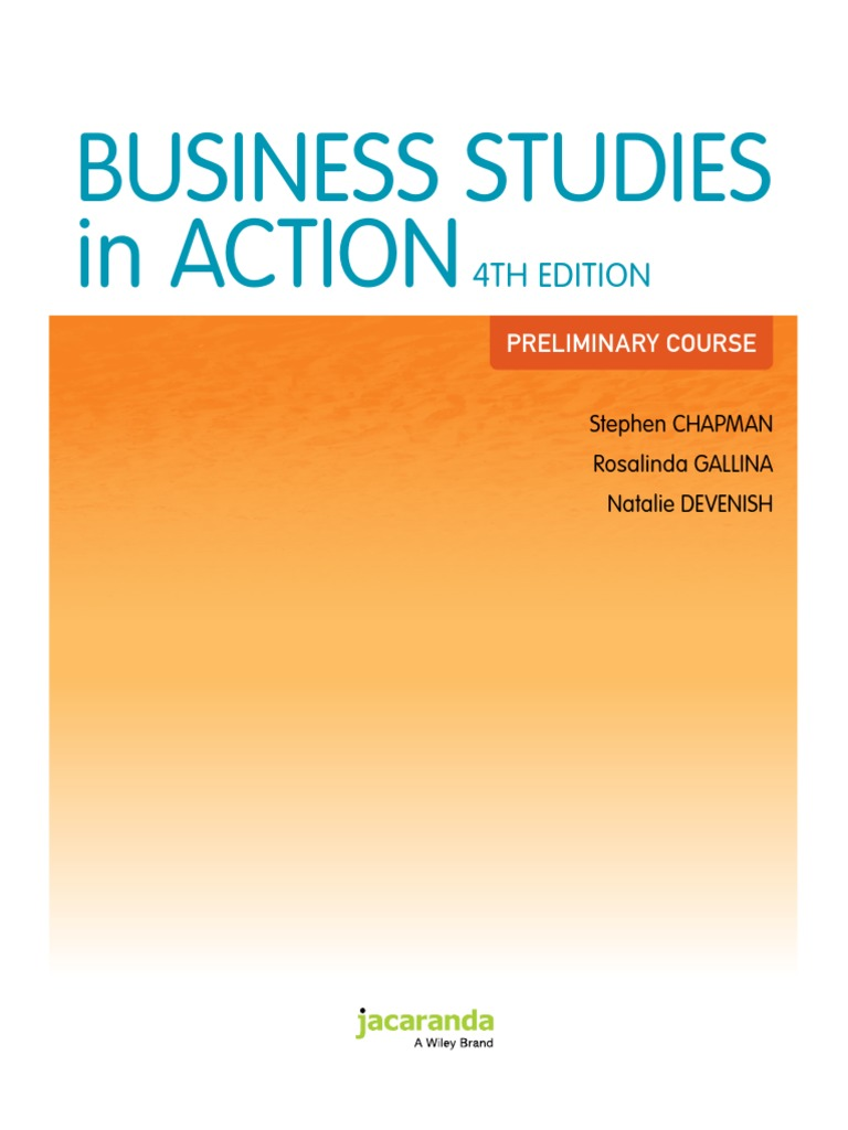 Business studies in action 4th edition privately held company business studies in action 4th edition privately held company partnership fandeluxe Images