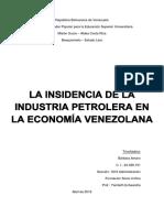 La Industria Petrolera