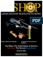 Bishop Ammunition Manufacturing 2016 Catalog
