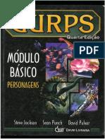 GURPS - 4º Edição -Modulo Basico Personagem PT-BR