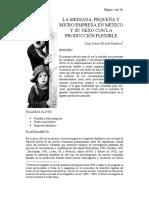 Rionda%2c La Mipyme en México y Su Relación Con La Producción Flexible