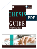 Thesis Guideline 2011
