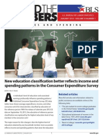 Education Classification and Income and Spending Patterns