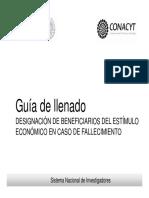 SNI Guia de Designación de Beneficiarios Ver 1_1