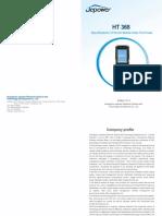 Jepower HT368 PDA User Manual