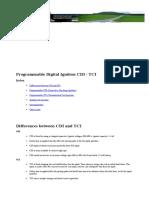 CDI Motos- Diagrama