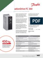 FC360 Product Fact Sheet