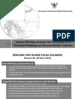 Perpres RTR Pulau Sulawesi Dan Percepatan Serta Perluasan Pembangunan Ekonomi Koridor Sulawesi