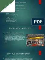 Charla Evalucion Grupo 5 Distribucion de Planta