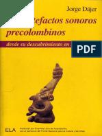 Los artefactos sonoros precolombino Jorge Dájer