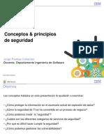 Conceptos y Principios de Seguridad