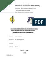 Desarrollo de Cuestionarios Modulos de Principios de Epidemiologia