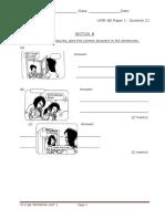 Unit 1 - Paper 1 - Qns 21