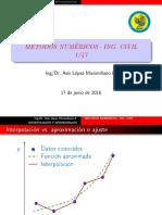 metodo de interpolacion y aproximacion polinomial - Asis Lopez - Unasam.pdf