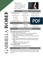 gabriella roberts resume