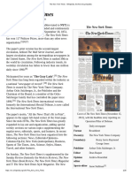 The New York Times - Wikipedia, The Free Encyclopedia
