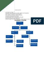 Planning Cluster