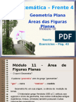 Geometria Plana - Área - Prof. Luciana