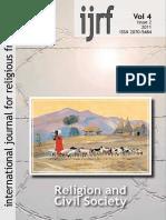 Jurnal Internasional for Religious Freedom