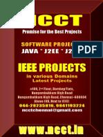 Live Projects Tamil Nadu Java - IEEE Projects List