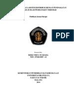Analisis Rugi Daya Sistem Distribusi Dengan Peningkatan