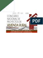 Bases Concurso Nacional de Proyectos de Vivienda Rural