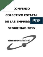 Convenio Seguridad 2016 SEGURIDAD PRIVADA