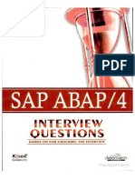 Sap Abap_4, Interview Questions_ Hands on for Cracking the ...