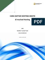 Cara.daftar.hosting.gratis