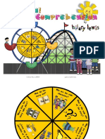 Reading Comprehension Spinner Fiction