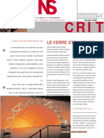 Article Verre Structurel