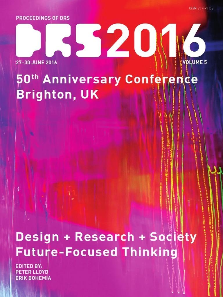 b39bc2b2395d4 Proceedings of DRS 2016 volume 5