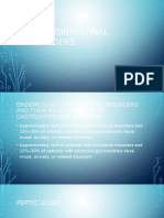 Gastrointestinal Disorders in Psych patients