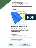 Behja, Hicham & Senach, Bernard - Tutoriel Réseaux Bayésiens (EGC, 2008)