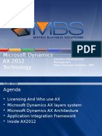 Microsoft Dynamics AX 2012 Technology