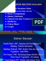 Materi-1 - Struktur Data