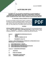 Plan de Desarrollo Pitalito 2015