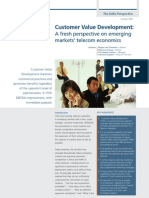 Customer Value Development - October 2009