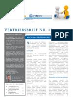 dipeo-Vertriebsbrief Mai 2010