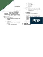 Araling Panlipunan 5 Lesson Plan