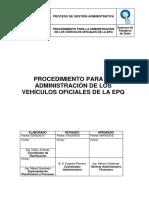 Administracion Vehicular