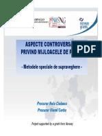 Aspecte Controversate Privind Mijloacele de Proba - Procuror Nelu Ciobanu & Procuror Viorel Cerbu