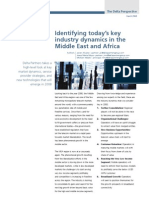 Identifying Today's Key Industry Dynamics in the Middle East and Africa - March 2008