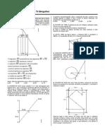 Matematica Relacoes Metricas Em Triangulos Lista 1 8