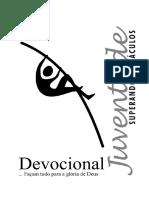 Devocional Facam Tudo Para a Gloria de Deus