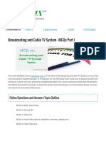 Broadcasting and Cable TV System