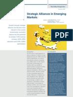 Strategic Alliances in Emerging Markets - December 2009