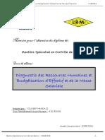 Diagnostic Des Ressources Humaines Et Budgétisation d'Effectif Et de La Masse Salariale